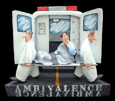 Ambivalence 15x17x6
