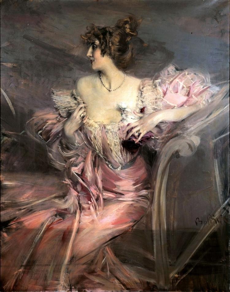 "Giovanni Boldini, ""Portrait of Marthe de Florian"""
