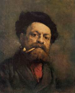 Gustave_Courbet_-_Man_with_Pipe_-_WGA5499