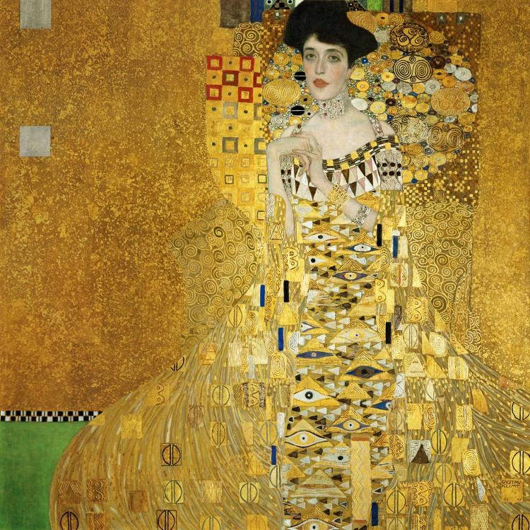 """Gustav Klimt, """"Portrait of Adele Bloch-Bauer"""""""