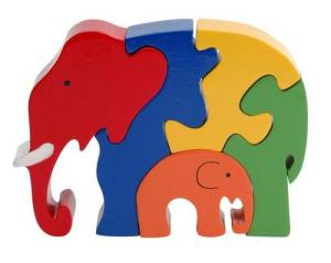 My metaphor only worked if there was such a thing as a wooden jigsaw puzzle. Luckily, there is.