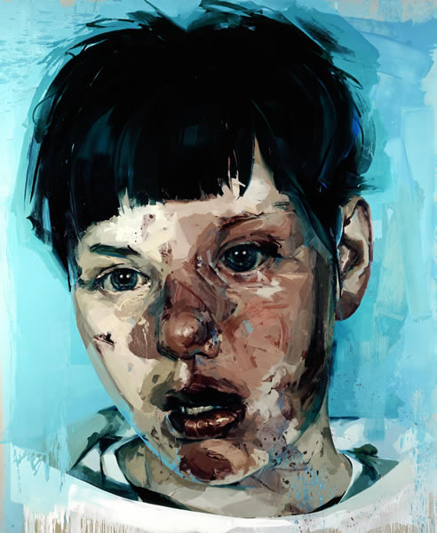 Source: This painting is by Jenny Saville. And, personally, I think it's beautiful.