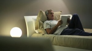 (The name of this picture is 'stock footage of senior man reading in bed')
